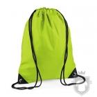 Bolsas Bag Base gymsac mochila polyester color Lime green :: Ref: lime-green