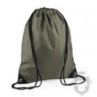 Bolsas Bag Base gymsac mochila polyester color Olive green :: Ref: olive