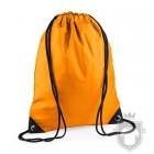 Bolsas Bag Base gymsac mochila polyester color Orange :: Ref: orange