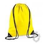 Bolsas Bag Base gymsac mochila polyester color Yellow :: Ref: yellow