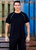 Camisetas Cam Técnica Tec 33 color Black / Lime :: Ref: black-lime