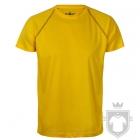 Camisetas Cam Técnica Tec 33 color Yellow / Black :: Ref: yellow-black