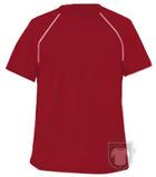 Camisetas Cam Técnica Tec 33B INF color Red / White :: Ref: red-white
