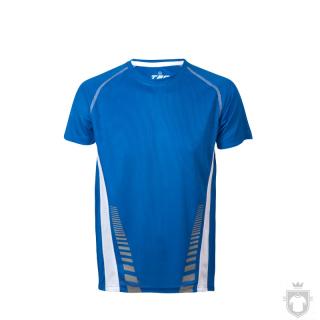 Camisetas Cam Técnica bicolor Tec 7 color Royal blue / White :: Ref: royal-blue-white