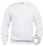 Sudaderas Clique Basic Roundneck K color White :: Ref: 00