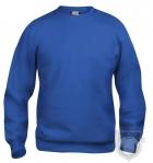 Sudaderas Clique Basic Roundneck K color Royal Blue :: Ref: 55