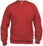 Sudaderas Clique Basic Roundneck color Red :: Ref: 35