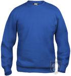 Sudaderas Clique Basic Roundneck color Royal Blue :: Ref: 55