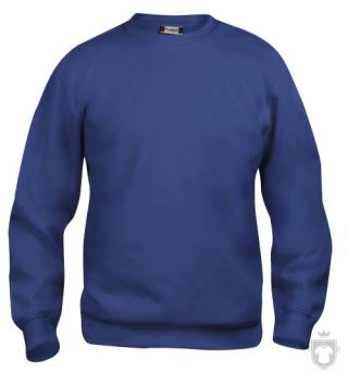 Sudaderas Clique Basic Roundneck color Cobalt :: Ref: 56