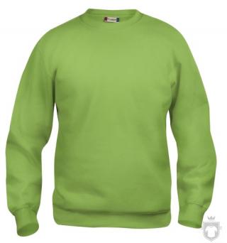 Sudaderas Clique Basic Roundneck color Pistachio :: Ref: 67
