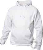 Sudaderas Clique Basic Hoody color White :: Ref: 00