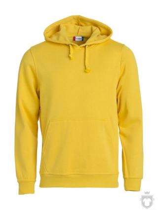 Sudaderas Clique Basic Hoody color Yellow :: Ref: 10