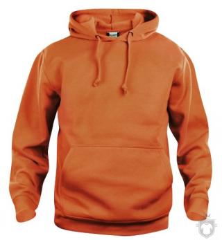 Sudaderas Clique Basic Hoody color Orange :: Ref: 18