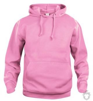 Sudaderas Clique Basic Hoody color Bright pink :: Ref: 250