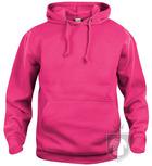 Sudaderas Clique Basic Hoody color fuchsia :: Ref: 300