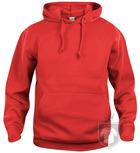 Sudaderas Clique Basic Hoody color Red :: Ref: 35
