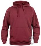 Sudaderas Clique Basic Hoody color maroon :: Ref: 38