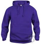 Sudaderas Clique Basic Hoody color Bright purple :: Ref: 44