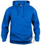 Sudaderas Clique Basic Hoody color Royal Blue :: Ref: 55