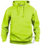 Sudaderas Clique Basic Hoody Fluor color Visibility Green :: Ref: 600