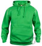 Sudaderas Clique Basic Hoody color Apple green :: Ref: 605
