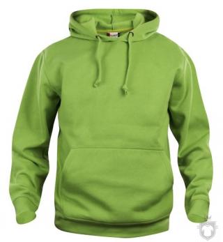 Sudaderas Clique Basic Hoody color Pistachio :: Ref: 67