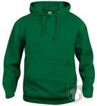 Sudaderas Clique Basic Hoody color Green :: Ref: 68