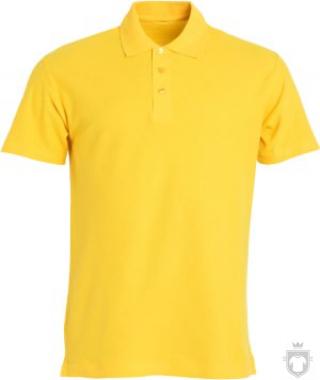 Polos Clique Basic color Yellow :: Ref: 10