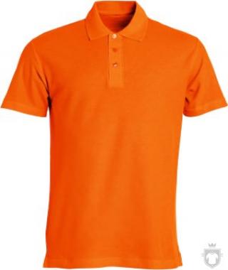 Polos Clique Basic color Orange :: Ref: 18