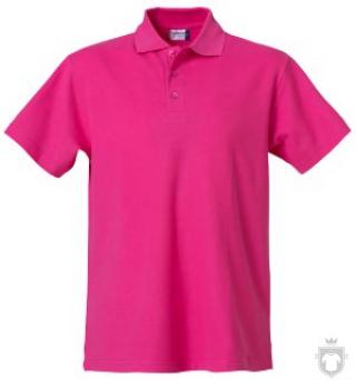 Polos Clique Basic color fuchsia :: Ref: 300