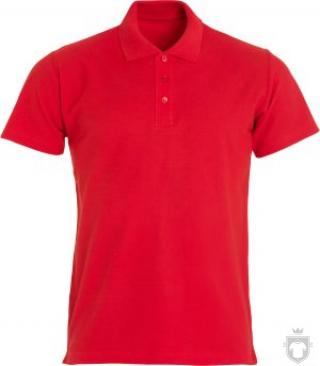 Polos Clique Basic color Red :: Ref: 35