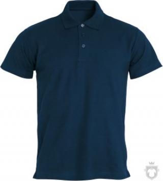 Polos Clique Basic color Dark blue - Black :: Ref: 580