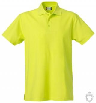Polos Clique Basic color Visibility Green :: Ref: 600