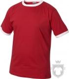 Camisetas Clique Camiseta bicolor Nome Kids color Red and White :: Ref: 3500