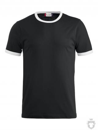 Camisetas Clique Camiseta bicolor Nome Kids color Black and White :: Ref: 9900
