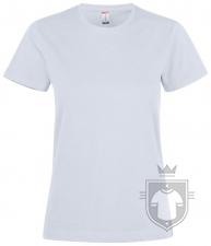Camisetas Clique Premium Fashion T W color White :: Ref: 00