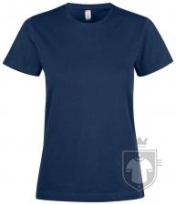 Camisetas Clique Premium Fashion T W color Dark blue - Black :: Ref: 580