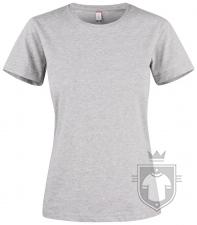 Camisetas Clique Premium Fashion T W color Heather Grey :: Ref: 95