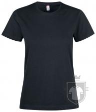 Camisetas Clique Premium Fashion T W color Black :: Ref: 99