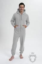 Pijamas Comfy All in one  color heather grey :: Ref: heathergrey