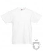 Camisetas Fruit of the Loom Original Kids color White :: Ref: 30
