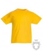 Camisetas Fruit of the Loom Original Kids color Sunflower :: Ref: 34