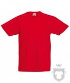Camisetas Fruit of the Loom Original Kids color Red :: Ref: 40