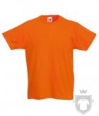 Camisetas Fruit of the Loom Original Kids color Orange :: Ref: 44