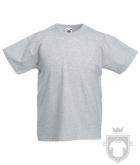 Camisetas Fruit of the Loom Original Kids color Heather Grey :: Ref: 94