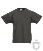 Camisetas Fruit of the Loom Original Kids color Light Graphite :: Ref: GL