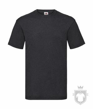 Camisetas Fruit of the Loom Value color Dark Heather Grey :: Ref: HD