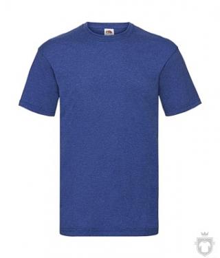 Camisetas Fruit of the Loom Value color Retro Heather Royal :: Ref: R6