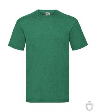 Camisetas Fruit of the Loom Value color Retro Heather Green :: Ref: RX