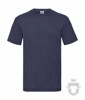 Camisetas Fruit of the Loom Value color Vintage Heather Navy :: Ref: VF